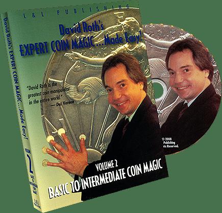 Basic-Intermediate Coin Magic - Volume 2 (David Roth) - magic