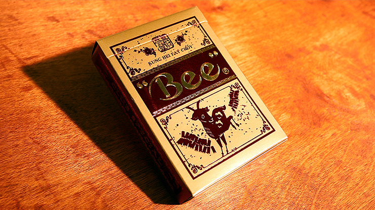 Bee Year of The Sheep Playing Cards - magic