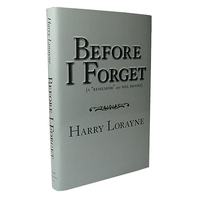 Before I Forget - magic