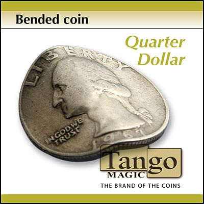 Bent Coin - Quarter Dollar - magic