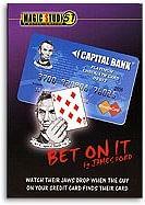Bet on It Credit Card - magic