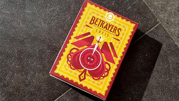 Betrayers Lucis Playing Cards - magic
