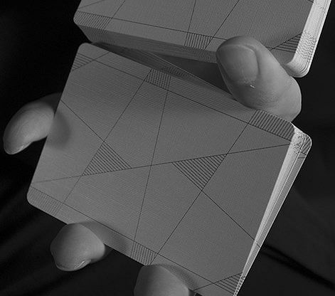Between the Lines Playing Cards