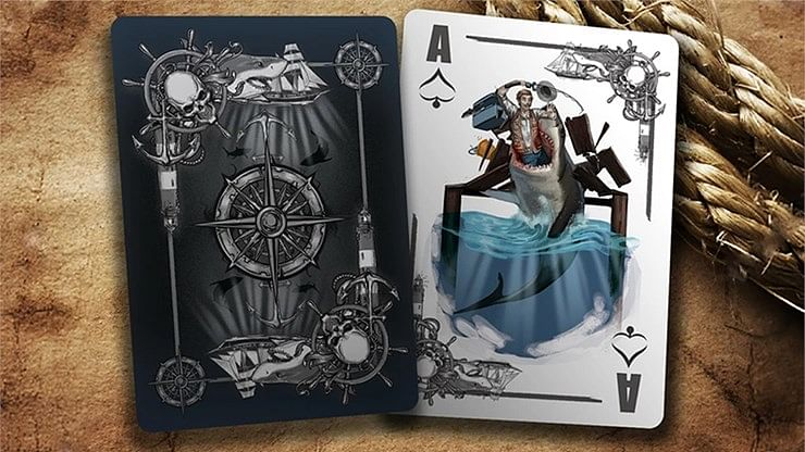 Bicycle 40 Years of Fear Jaws Playing Cards (Special Edition)
