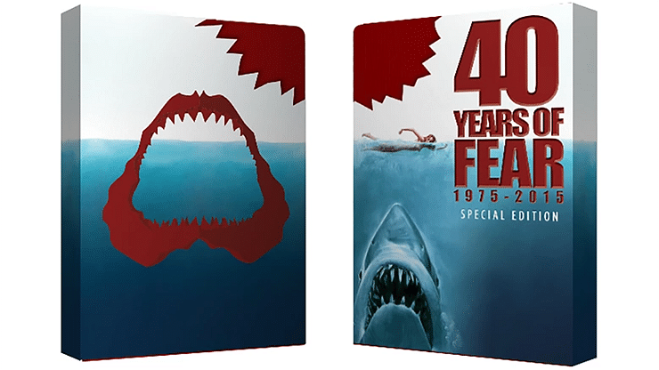 Bicycle 40 Years of Fear Jaws Playing Cards (Special Edition) - magic