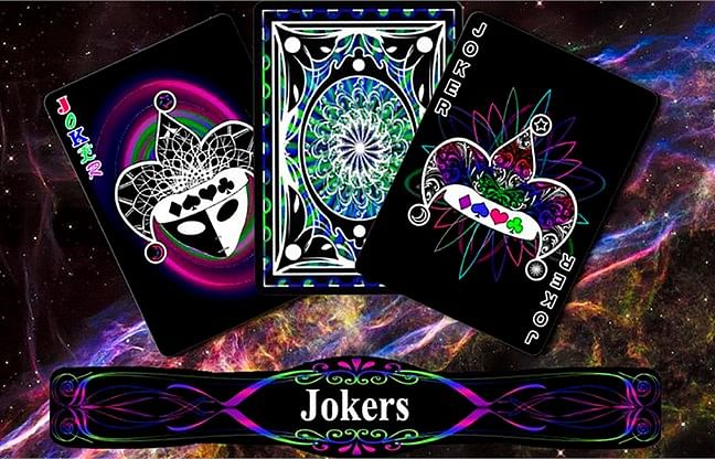 Bicycle A Glo Playing Cards