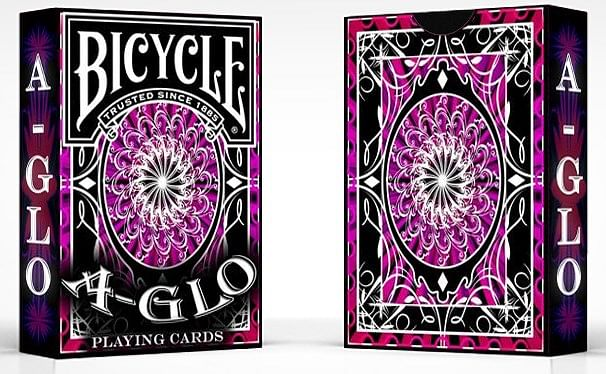 Bicycle A-Glo Playing Cards - magic