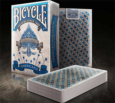 Bicycle Americana Playing Cards - magic