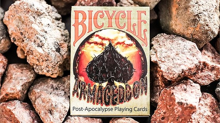 Bicycle Armageddon Post-Apocalypse Playing Cards - magic