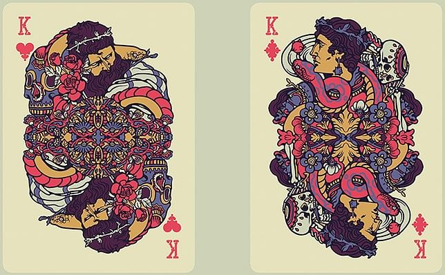 Bicycle Artist Playing Cards Second Edition