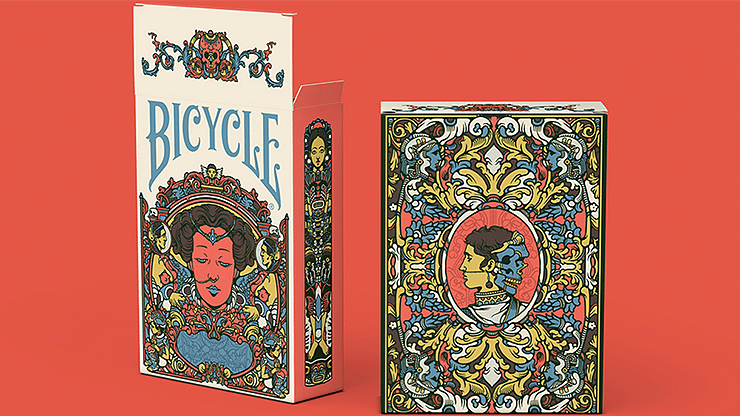 Bicycle Artist Playing Cards (Second Edition) - magic