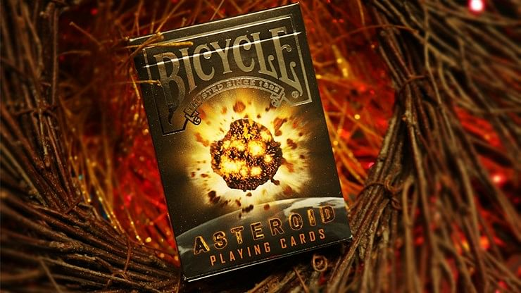 Bicycle Asteroid Playing Cards - magic