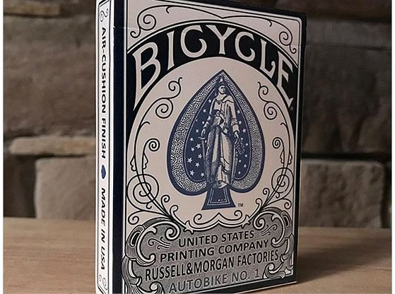 Bicycle AutoBike No. 1  Playing Cards (Blue) - magic