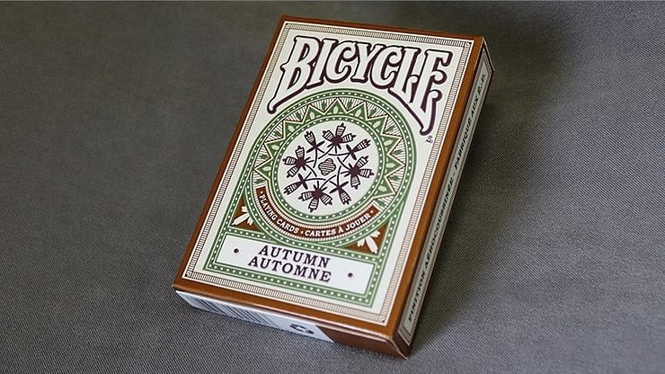 Bicycle Autumn Playing Cards - magic