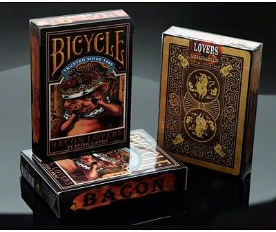 Bicycle Bacon Lovers Playing Cards - magic