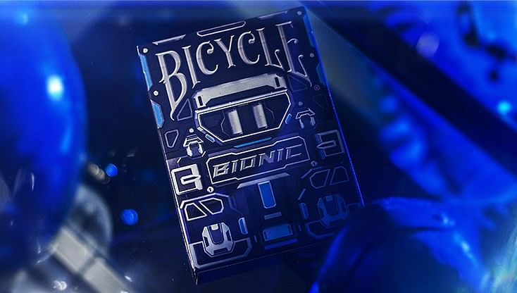 Bicycle Bionic Playing Cards - magic