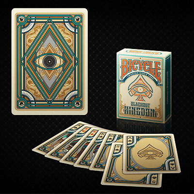 Bicycle Blackout Kingdom Deck (Light Shade) - magic