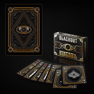 Bicycle Blackout Kingdom Deck (Limited Edition Side Tuck Case) - magic
