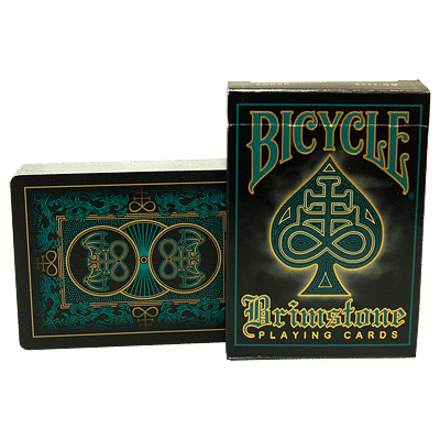 Bicycle Brimstone Deck (Aqua) - magic