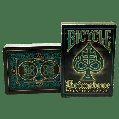 Bicycle Brimstone Deck (Aqua) - magic