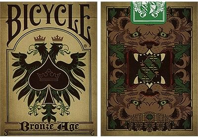 Bicycle Bronze Age Playing Cards - magic