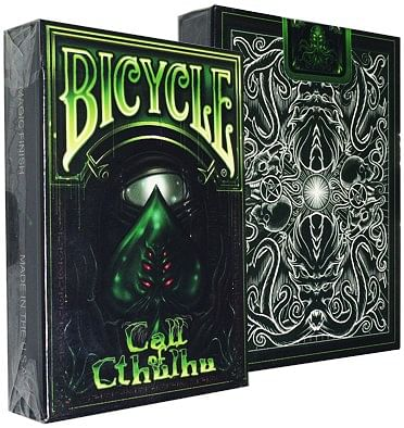 Bicycle Call of Cthulhu Deck - Green - magic