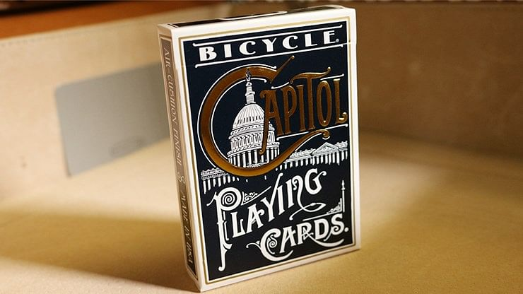 Bicycle Capitol Playing Cards - magic