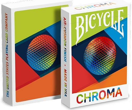 Bicycle Chroma Playing Cards - magic