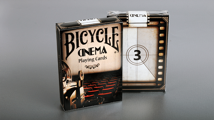 Bicycle Cinema Playing Cards - magic