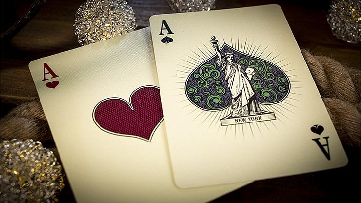 Bicycle City Skylines New York City Playing Cards
