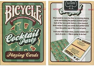 Bicycle Cocktail Party Cards - magic