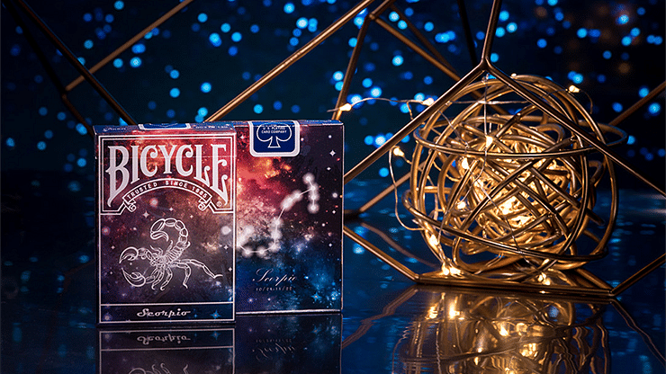 Bicycle Constellation Series - Scorpio - magic