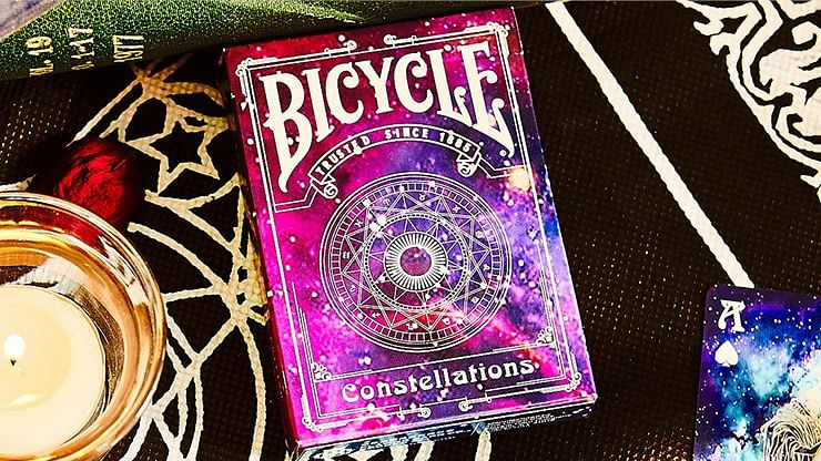 Bicycle Constellations V2 Playing Cards - magic