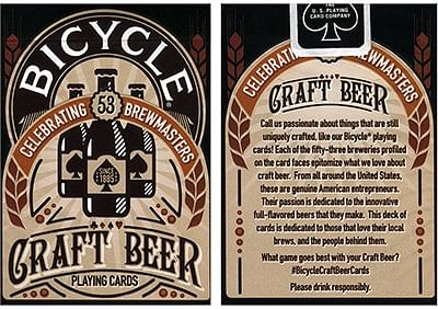 Bicycle Craft Beer Deck - magic