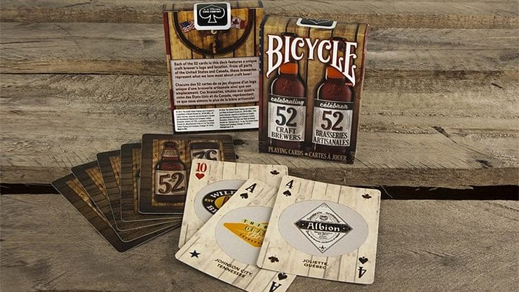Bicycle Craft Beer V2 Deck