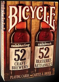 Bicycle Craft Beer V2 Playing Cards - magic