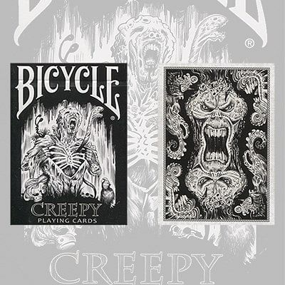Bicycle Creepy Playing Cards - magic