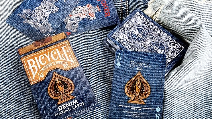 Bicycle Denim Playing Card