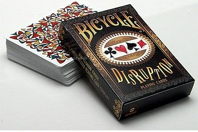 Bicycle Disruption Deck - magic