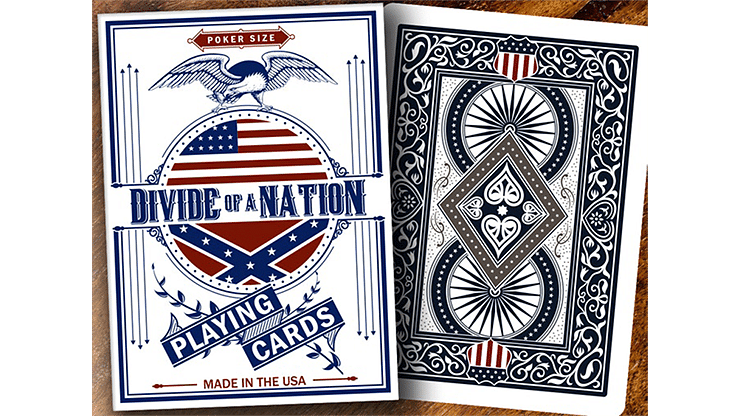 Bicycle Divide of A Nation Playing Cards - magic