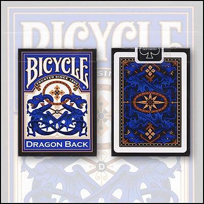 Bicycle Dragon Back Cards - magic