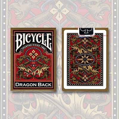 Bicycle Dragon Back Playing Cards - magic