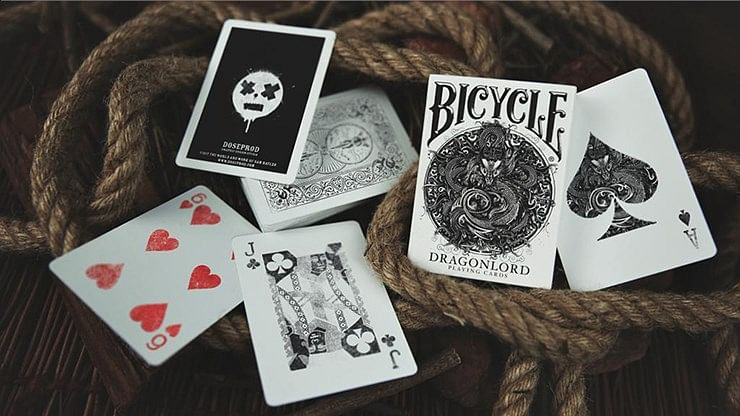 Bicycle Dragonlord White Edition Playing Cards