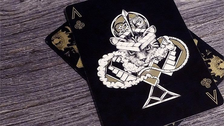 Bicycle Dream Black/Gold Playing Cards