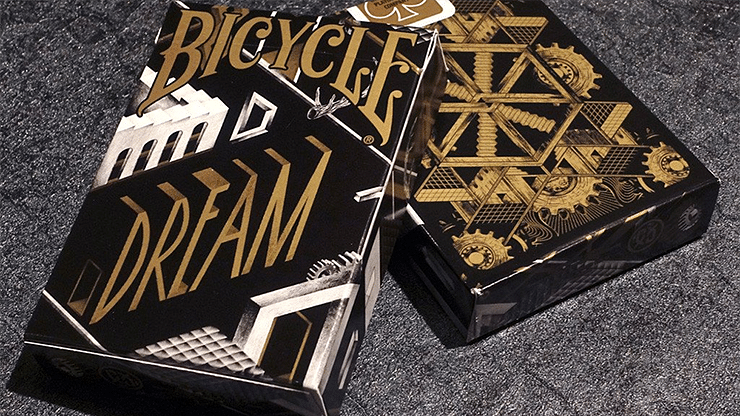 Bicycle Dream Black/Gold Playing Cards - magic