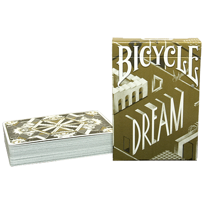 Bicycle Dream Playing Cards (Gold Edition) - magic