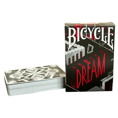 Bicycle Dream Playing Cards (Silver Edition) - magic