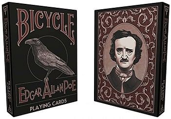Bicycle Edgar Allan Poe Playing Cards - magic