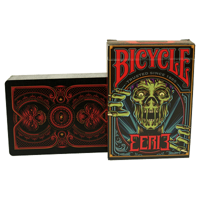 Bicycle Eerie Deck (Red) - magic