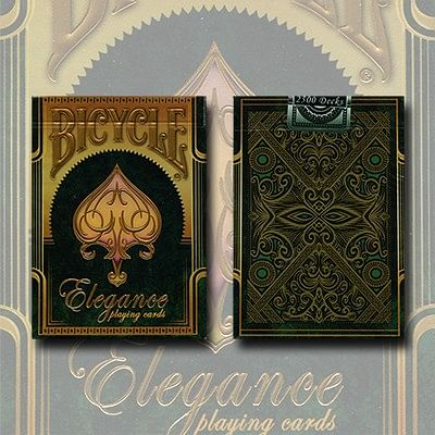 Bicycle Elegance Deck (Emerald) - magic